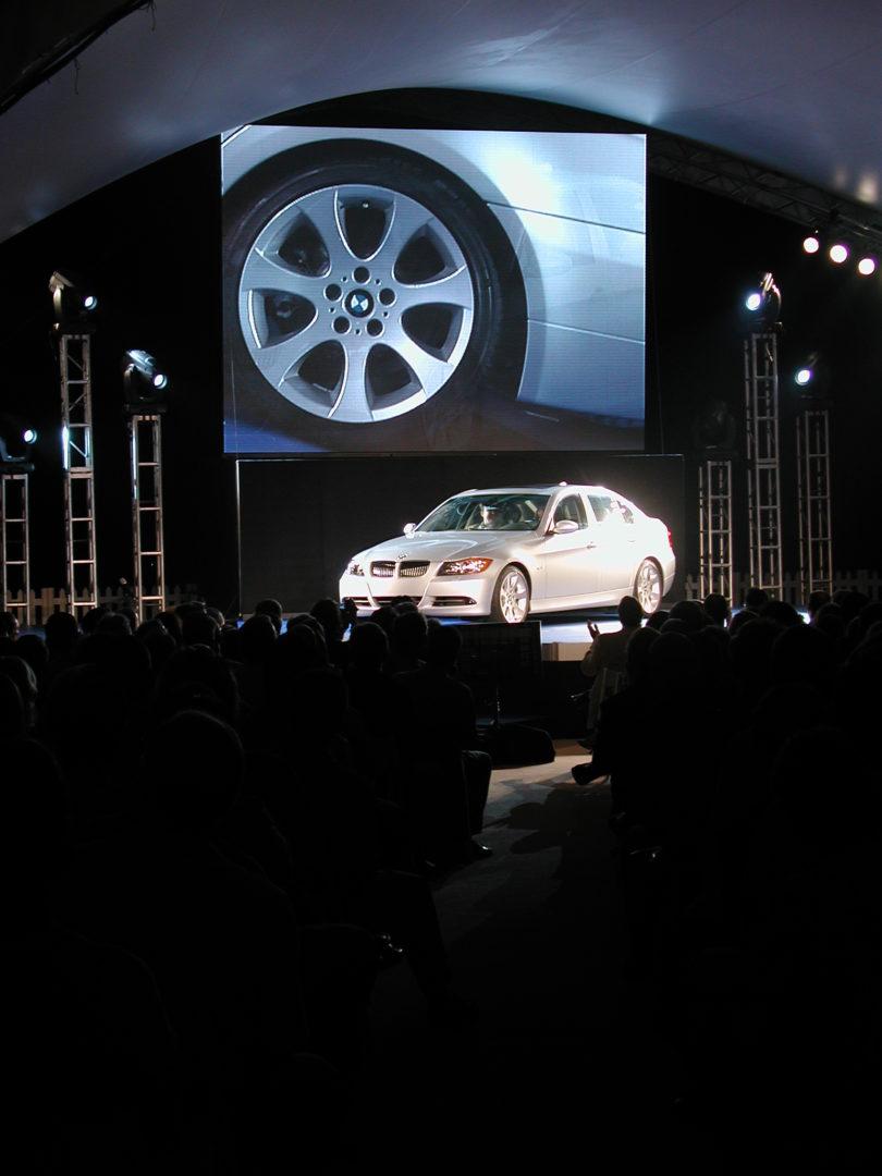 BMW Barco LED Wall