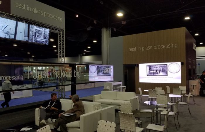 CenterPoint GlassBuild Unilumin 2.6mm LED Ground Supported