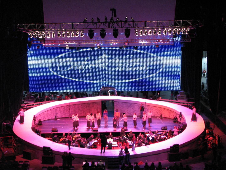 Creative Christmas LED Curtain