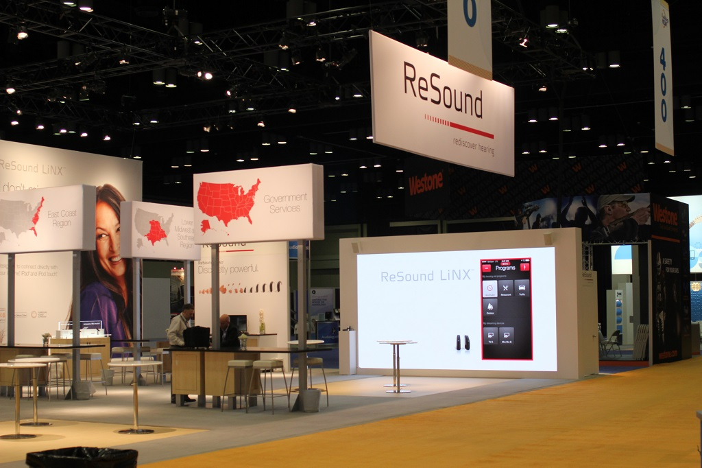 GN ReSound Barco C5 LED Wall
