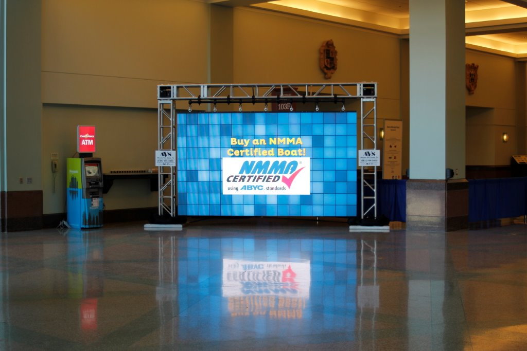 MN Boat Show Absen A3pro LED Wall