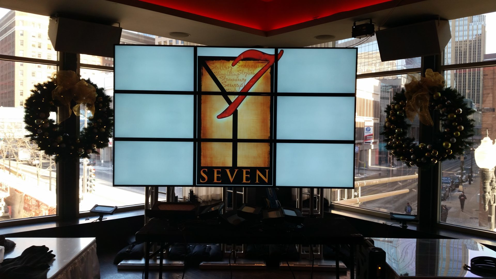 Samsung 3×3 Video Wall