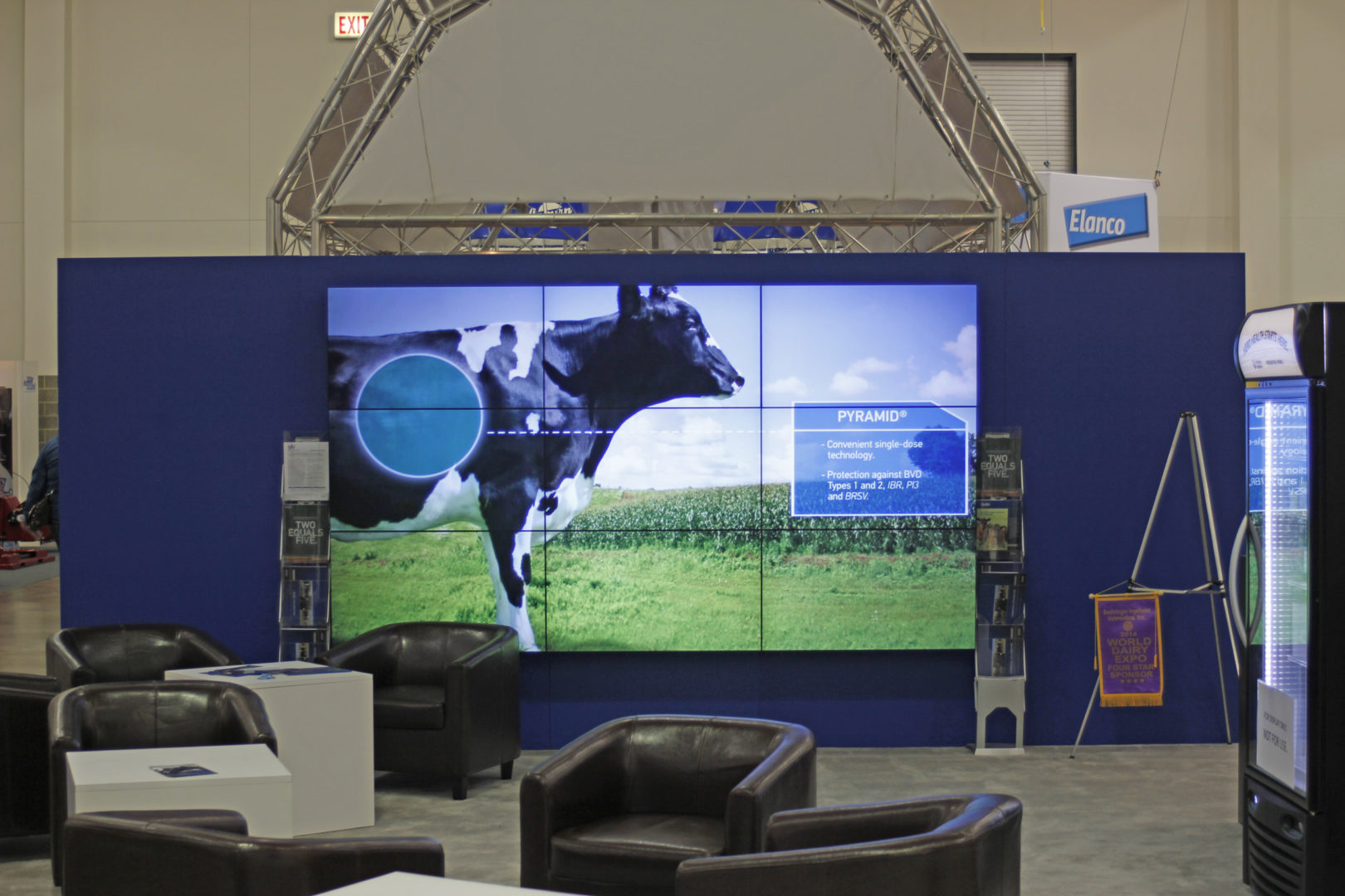 Trade Show LCD Wall