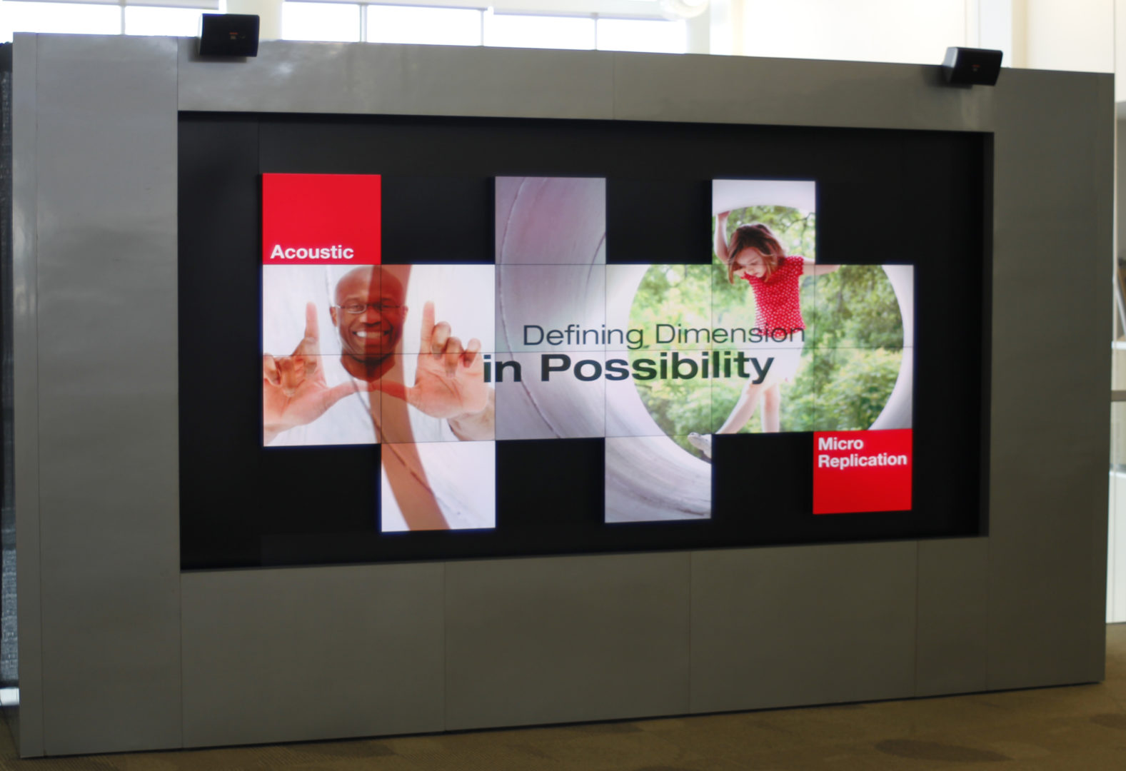 3M Corporation Creative Christie Digital Micro Tiles Display