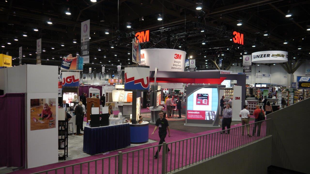 Christie Digital Micro Tile Trade Show Solutions