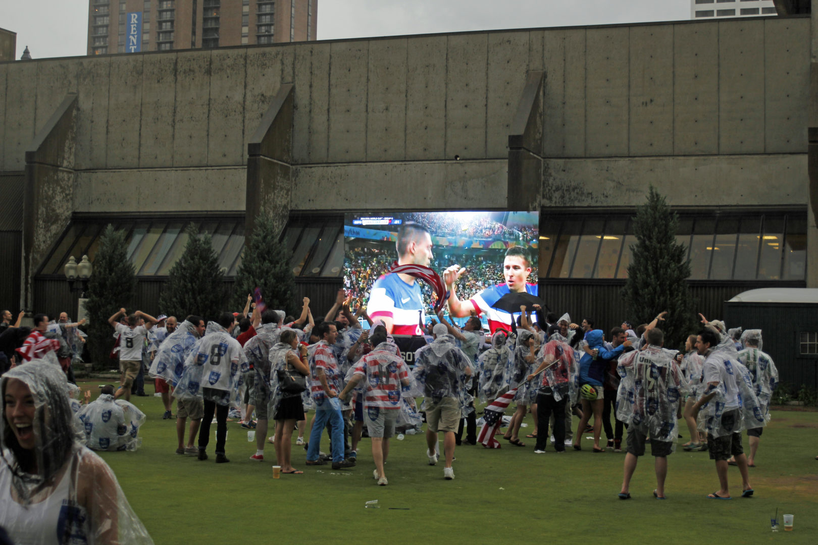 Brits Pub World Cup Absen A7 Indoor Outdoor LED Wall