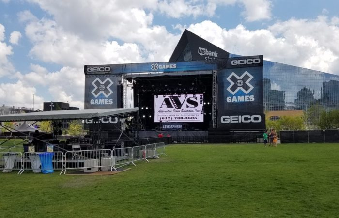 Xgames 2017 4.8mm Outdoor LED