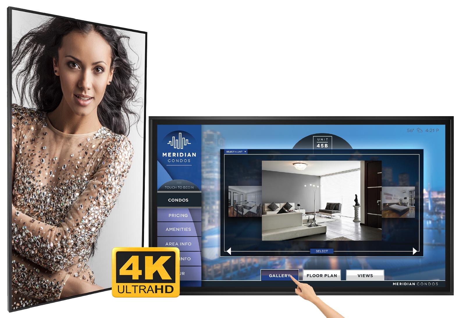 """Planar QE-8650-T 86"""" Touchscreen"""