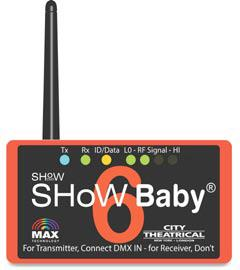 Show Baby 6 Wireless DMX